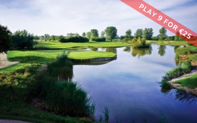 Play 9 holes for €25,- Burggolf Purmerend.